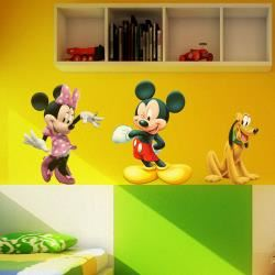 Minnie Mickey Y Pluto