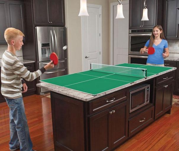 Ping pong en cocina