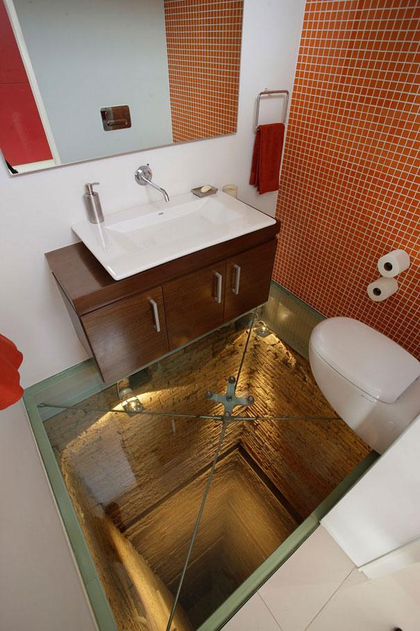 Cuarto de baño elevado